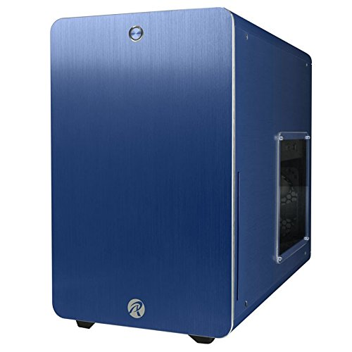 RAIJINTEK STYX/STYX CLASSIC No Power Supply MicroATX Case w/Window (Blue)