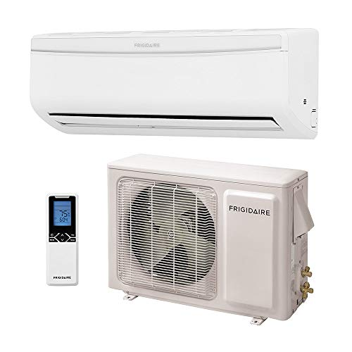 frigidaire ductless wall mount mini split inverter air conditioner with heat pump 22000 btu 2. Black Bedroom Furniture Sets. Home Design Ideas