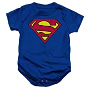 DC Comics Superman Creeper Romper Size: 0-6 Months