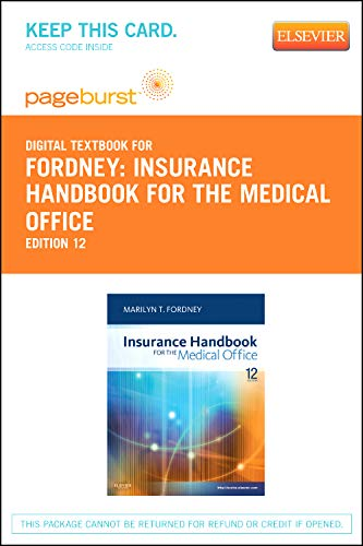Insurance Handbook for the Medical Office - Elsevier eBook on VitalSource (Retail Access Card)