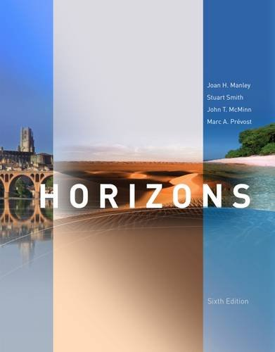 Horizons, 6th Edition (World Languages)