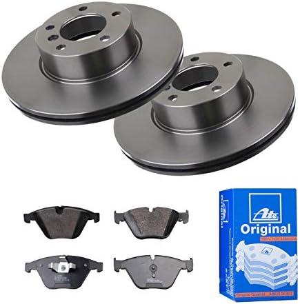 Bremsbel/äge ATE 1420-22871 Bremsanlage 2 Bremsscheiben Voll 330 mm