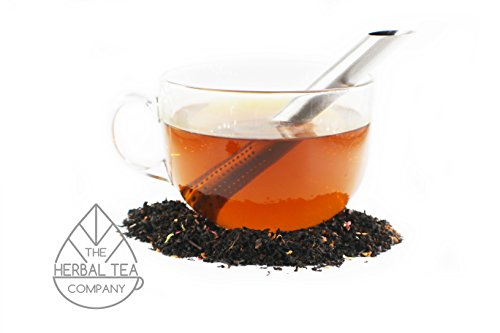 Holy Thistle Herb Blessed Loose Herb Black Raspberry Tea 100g With Cacoa Flavour by The Herbal Tea Company