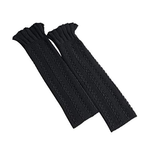 Noir Unique Guêtres Acvip Femme Taille 7w08qxOS