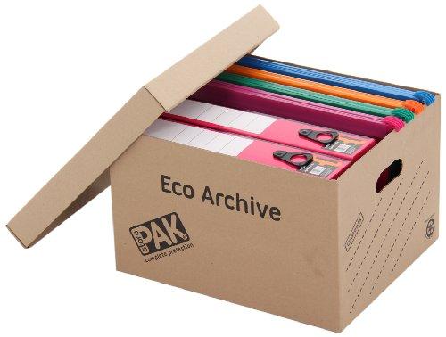 StorePAK Eco Dokumentenbox mit Deckel, 10 Stück