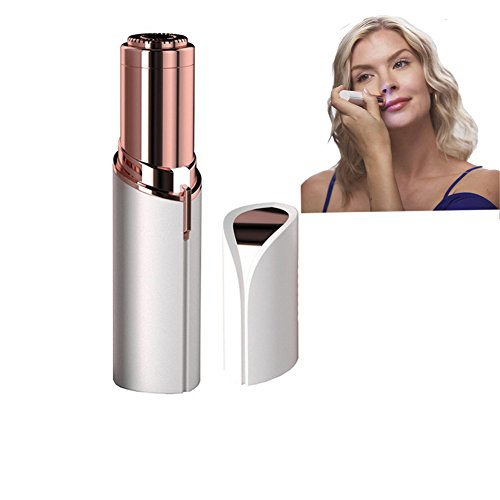 Suntric 18K Gold Finishing Touch Flawless Women's Painless Hair Remover Lipstick Design (A)