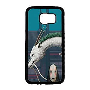 Visual Creative My Neighbor Totoro No Face Spirited Away Ghibli Phone Case for Samsung Galaxy S6 Japan Anime&Cartoon Style Spirited Away, No Face Back