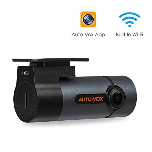 Car Auto Dashboard - Upgraded AUTO-VOX WiFi Dash Cam D6 Pro FHD 1080P Dashboard Camera Recorder Car Dash Camera with Super Night Vision, G-Sensor, WDR, Loop Recording, 300°Rotate Angle