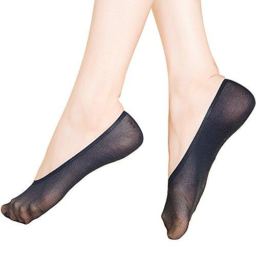 ec0094c2020 Stocking Fox Women s Casual No Show Socks Non Slip Flat Boat Line 12-Pack -  Buy Online in Oman.