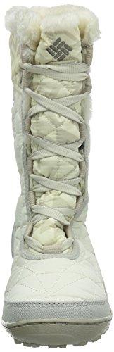 Columbia Women's Minx Mid II Omni-Heat Print - Botas de nieve de sintético mujer Blanco (Winter White / Silver Sage)