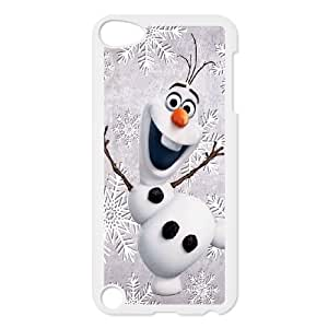 iPod Touch 5 Case White Olaf Phone Case Cover Personalized Design XPDSUNTR31568