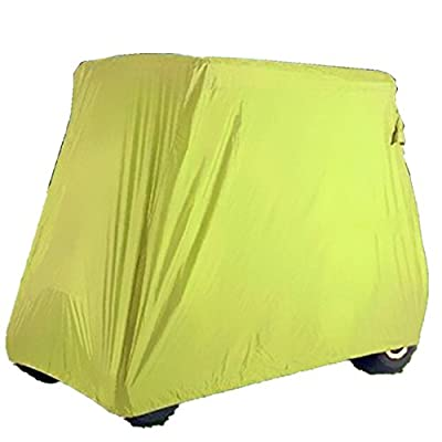 Tokept Golf cart cover 4 Passengers Yellow Upgrade