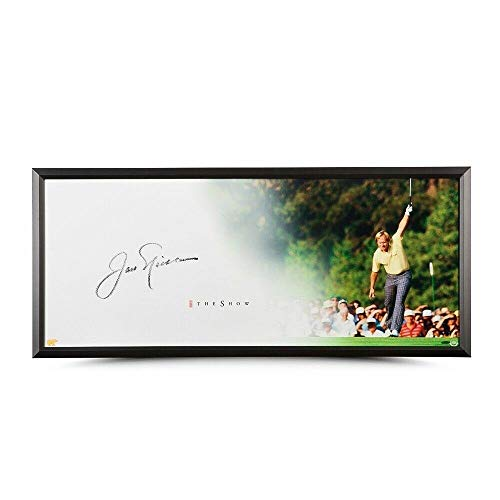 - Jack Nicklaus Signed Autographed 20X46 Framed Photo The Show