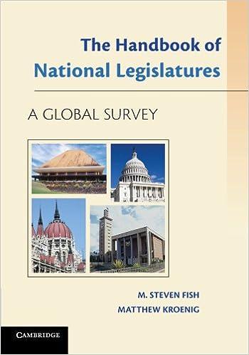 The Handbook of National Legislatures: A Global Survey