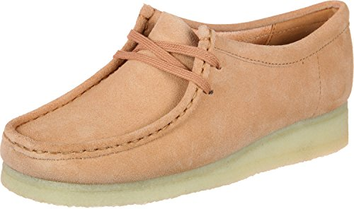 CLARKS Originals Womens Sandstone Wallabee Suede Shoes-UK (Clarks Wallabee Oxford)