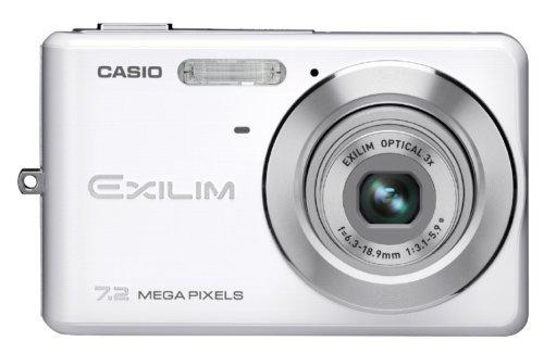 CASIO デジタルカメラ EXILIM (エクシリム) ZOOM ホワイト EX-Z77WE