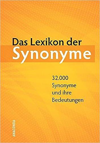 Das Lexikon Der Synonyme Amazonde Herbert Görner Hrsg Günter