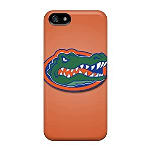 Iphone 5/5s PCH6086Ghqh Support Personal Customs HD Florida Gators Series Shockproof Hard Phone Cases -JohnPrimeauMaurice