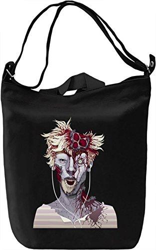 Zombie boy Borsa Giornaliera Canvas Canvas Day Bag  100% Premium Cotton Canvas  DTG Printing 