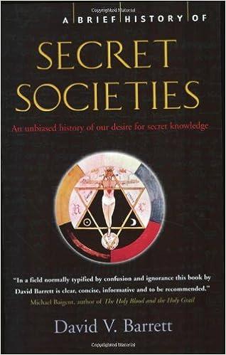 Amazon com: A Brief History of Secret Societies: An unbiased history