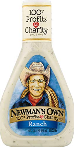 Newman's Own Salad Dressing, Ranch, 16 Ounce -