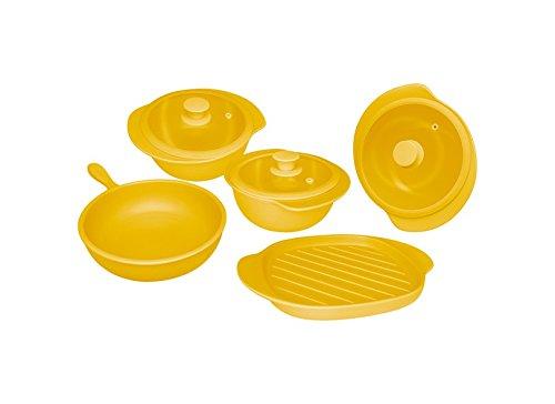 Oxford 7891361977536 5 Piece Linea Cookware, Solaris Review