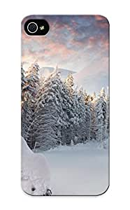 Ideal Waynekorn Case Cover For Iphone 5/5s(winter Trees Mountains Forest Snow Snowdrifts ), Protective Stylish Case