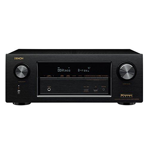 Price comparison product image Denon AVR-X3300W 7.2 Channel Full 4K Ultra HD A/V Receiver with Built-In Wi-Fi and Bluetooth