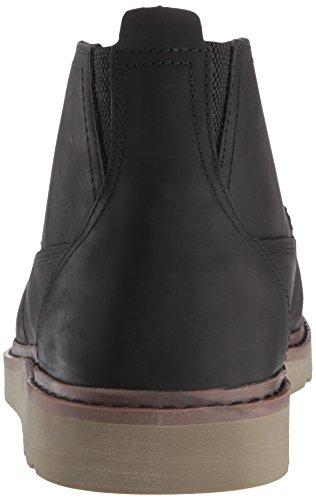 Mens Revet Resa Chukka Boots Svart