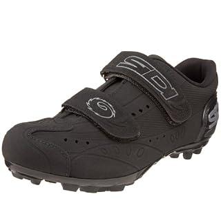 ea288810b055d Sidi Vigo MTB Indoor Cycling Shoe,Black,37 M EU (US Women's 4.5 M ...