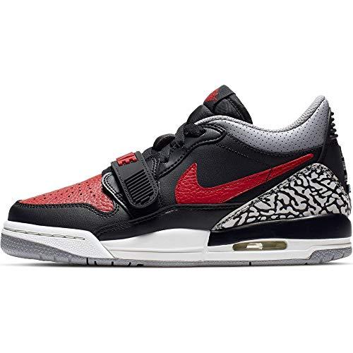 Jordan Air Legacy 312 Low (Kids) (6.5 Big Kid, Black/Varsity Red/Black)
