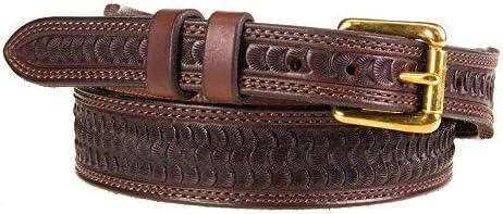 [해외]Texas Saddlery Womens Chocolate Swirl Tapered Belt / Texas Saddlery Womens Chocolate Swirl Tapered Belt