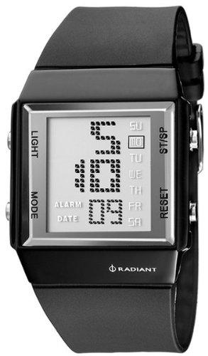 Radiant new space reloj para Unisex Digital de Cuarzo con brazalete de Silicona RA128601: Amazon.es: Relojes
