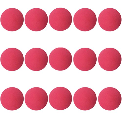 Aoneky 15 Pack Baby Toys Balls - Small Soft Foam Balls for Toddlers Red for $<!--$18.99-->