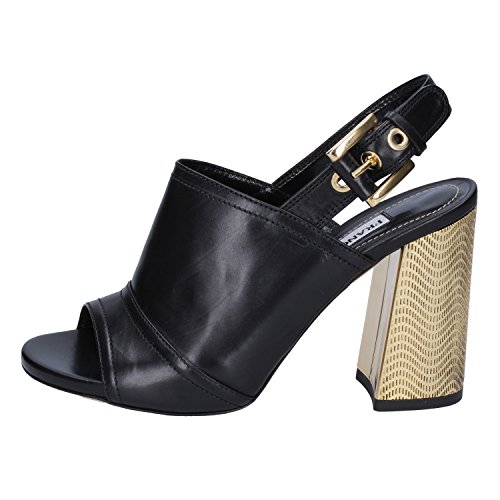 Francesco Sacco Sandals Womens Leather Black 6.5 US for sale  Delivered anywhere in USA