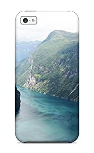 AWhOhOD7662PauFv Case Cover, Fashionable Iphone 5c Case - Beautiful Fjord Norway BY icecream design
