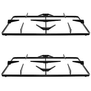SPARES2GO cocinas de Gas sartén compatible con rejilla para hornos Rangemaster hornos (unidades 2, 225 x 455 mm)
