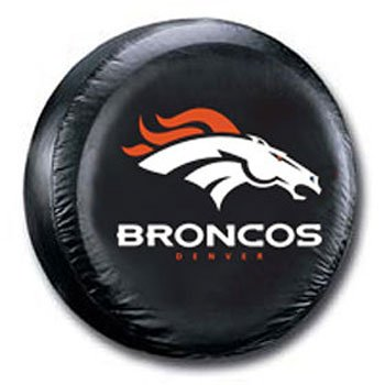 (Fremont Die Denver Broncos Black Spare Tire Cover)