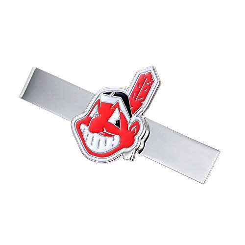 Promotioneer Mens Baseball The Team Logo Symbol Series Tie Bar Tie Clip with Gift Box ()