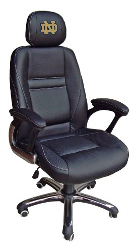 NCAA Notre Dame Fighting Irish Leather Office Chair