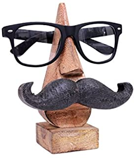7d009d66b0b storeindya Artncraft Spectacle Holder Eyeglass Stand for The Couple Home  Decor Accessories   Gifts (Mustache