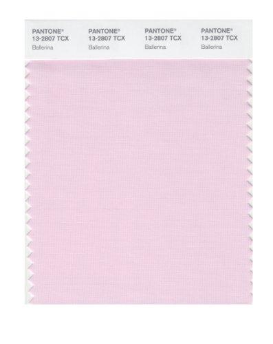 Flat Ballerina Card (Pantone 13-2807 TCX Smart Color Swatch Card, Ballerina)