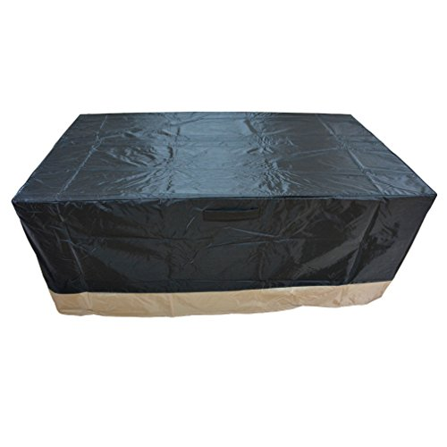 Stanbroil Rectangle Fire Pit /Table Cover, 60″L x 38″W x 24″H