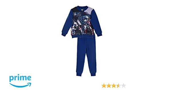 Star Wars Pantalón de Deporte para niño, Niñas, 24303_119400, Azul ...