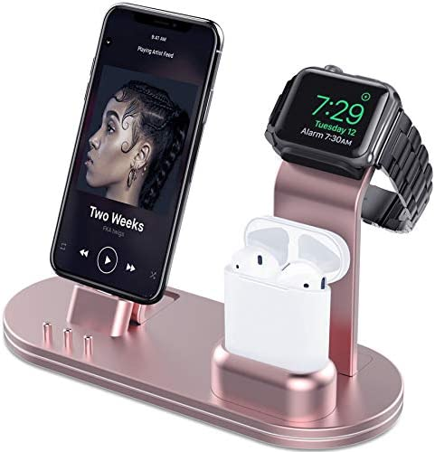 OLEBR Charging AirPods iPhone iPad Rose product image