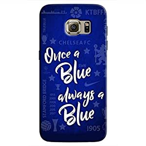 Cover It Up - Chelsea- Once a Blue Galaxy S7 Edge Hard Case