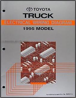 1995 Toyota 4Runner Wiring Diagram Manual Original: Toyota: Amazon ...
