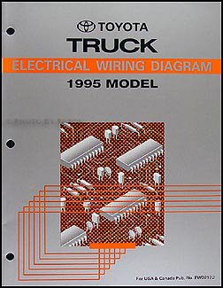 1995 toyota 4runner wiring diagram manual original toyota amazon rh amazon com 1995 toyota 4runner spark plug wire diagram 1998 Toyota 4Runner Parts Diagram