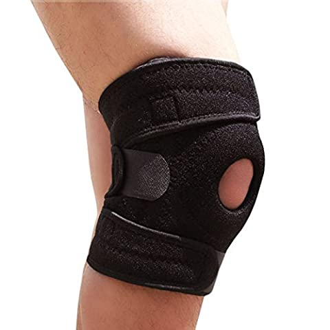 Knee Braces , ADiPROD (1 Piece) Adjustable Kneeling Kneepad Protector Protection Outdoor Sports Climbing Running Cycling Camping Hiking Arthritis Basketball Relieves Pain - Warrior Rock Sliders