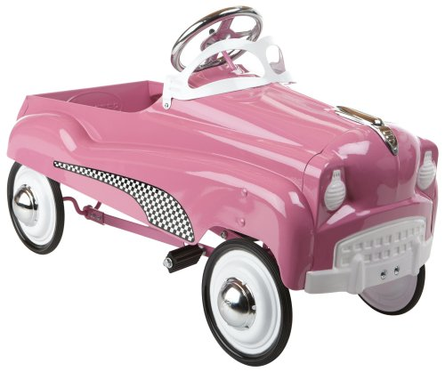 InStep Pink Lady Pedal Car - Childrens Pedal